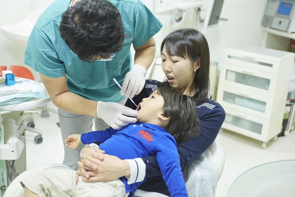 歯医者さんに慣れてからから治療