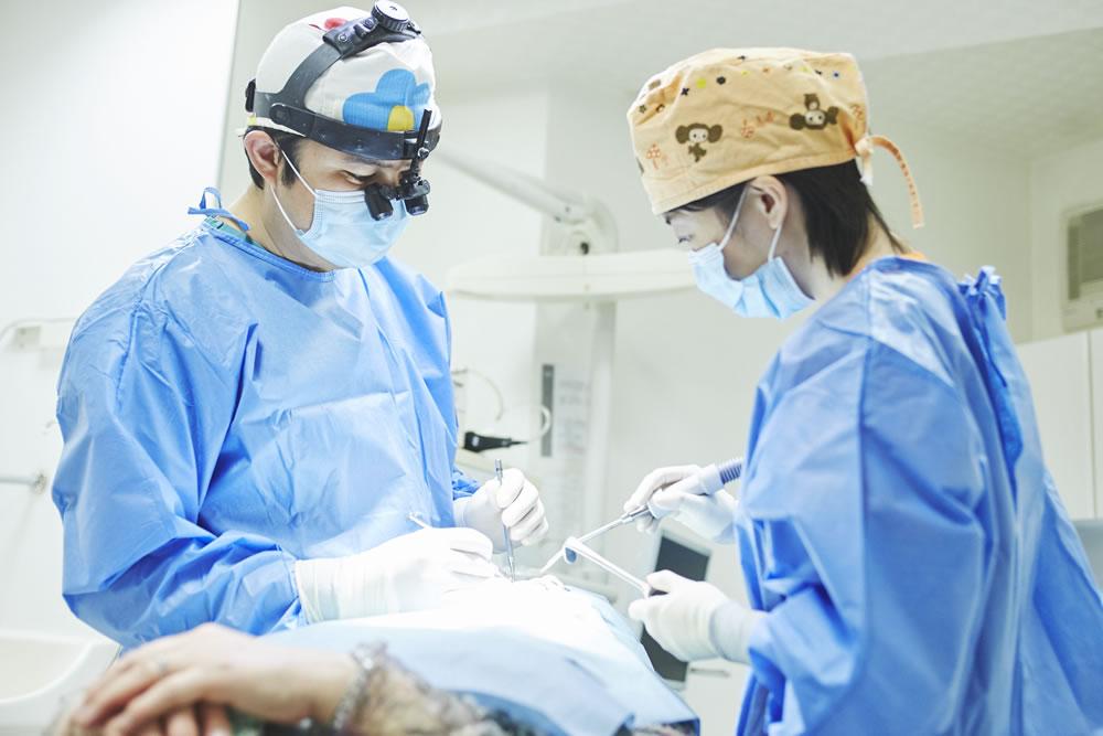 Dr.パウロ・マロから日本で唯一提供を許された歯科
