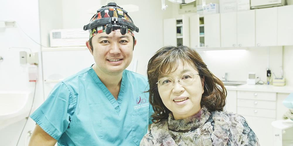 世田谷区三宿でで入れ歯調整、作り変え