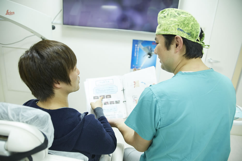 歯周内科治療の流れ